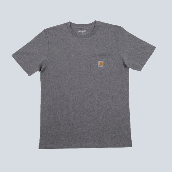 Carhartt Pocket T-Shirt - Dark Grey Heather