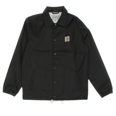 CARHARTT - WATCH COACH JACKET - BLACK / BROKEN WHITE