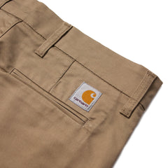 CARHARTT - SID PANT - LEATHER RINSED