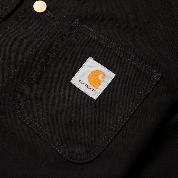 CARHARTT - MICHIGAN CHORE COAT - BLACK/BLACK