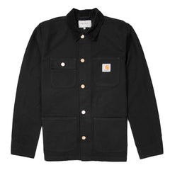 CARHARTT - MICHIGAN CHORE COAT - BLACK / BLACK