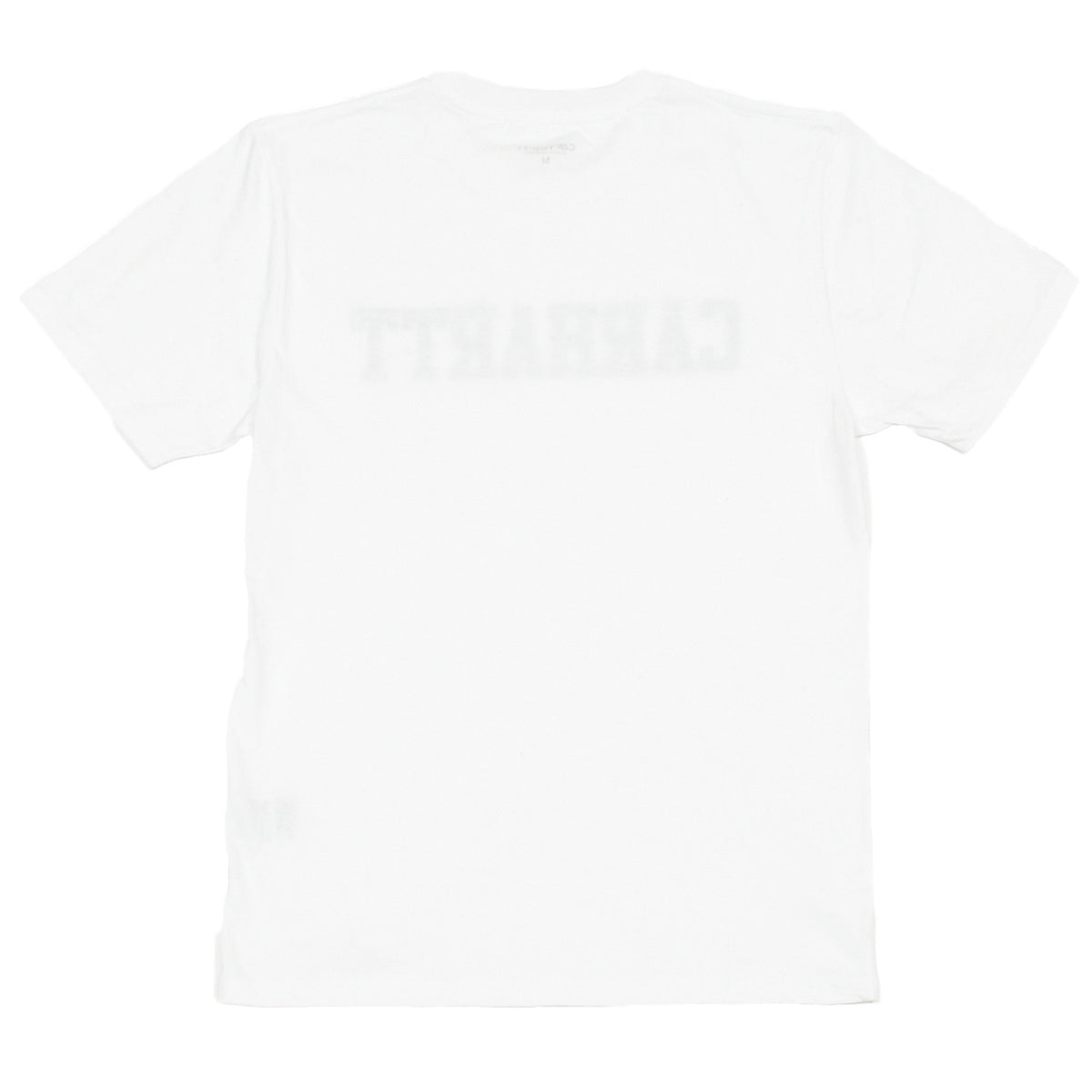 CARHARTT - SS COLLEGE T-SHIRT - WHITE / CAMO TIGER