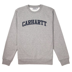 CARHARTT - YALE SWEAT - GREY HEATHER / NAVY