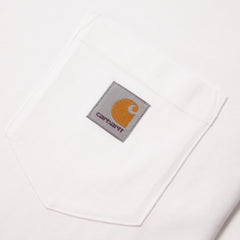 CARHARTT - S/S POCKET T-SHIRT - WHITE