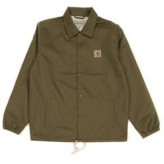CARHARTT - WATCH COACH JACKET - ROVER GREEN / BROKEN WHITE