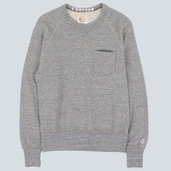 Champion Todd Snyder Crewneck Sweatshirt - Grey Marl