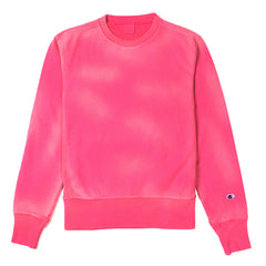 CHAMPION - CREWNECK SWEATSHIRT - PINK