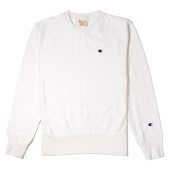 CHAMPION - CREWNECK SWEATSHIRT - WHITE