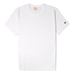 CHAMPION - CREWNECK TEE - WHITE