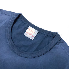 CHAMPION - CREWNECK TEE - NAVY