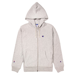CHAMPION - BEAMS FULL ZIP SWEATSHIRT - GREY