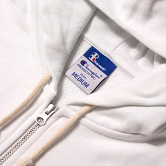 CHAMPION - BEAMS FULL ZIP SWEATSHIRT - WHITE