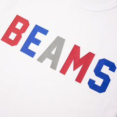 CHAMPION - BEAMS CREWNECK T-SHIRT - WHITE