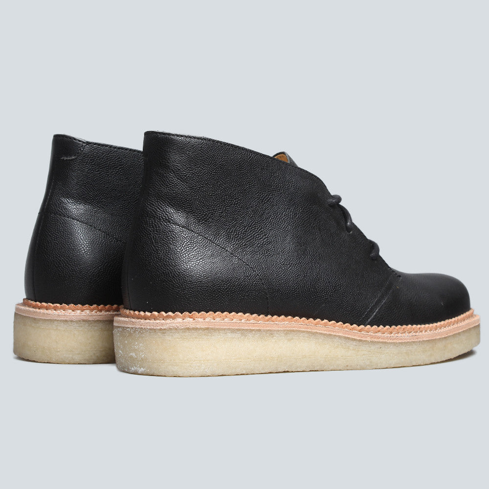 CLARKS ORIGINAL - BECKERY HILL - BLACK LEATHER