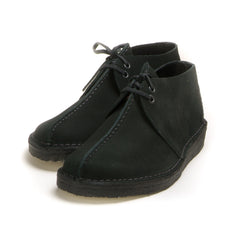 CLARKS ORIGINALS - DESERT TREK - BLACK SUEDE