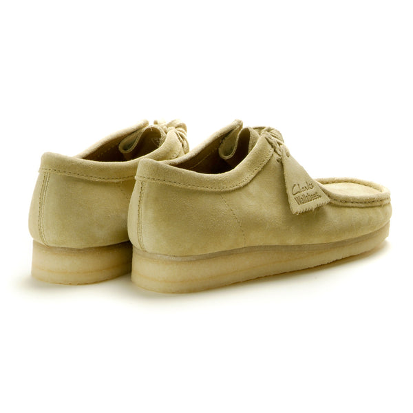 CLARKS - WALLABEE - MAPLE SUEDE