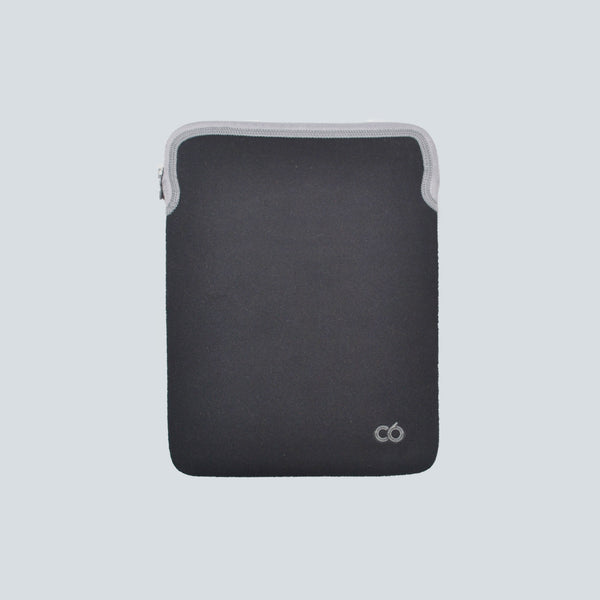 C6 Zip Sleeve iPad case - Black/Graphite