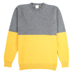 Country of Origin - Updown Lambswool Crew - Yellow