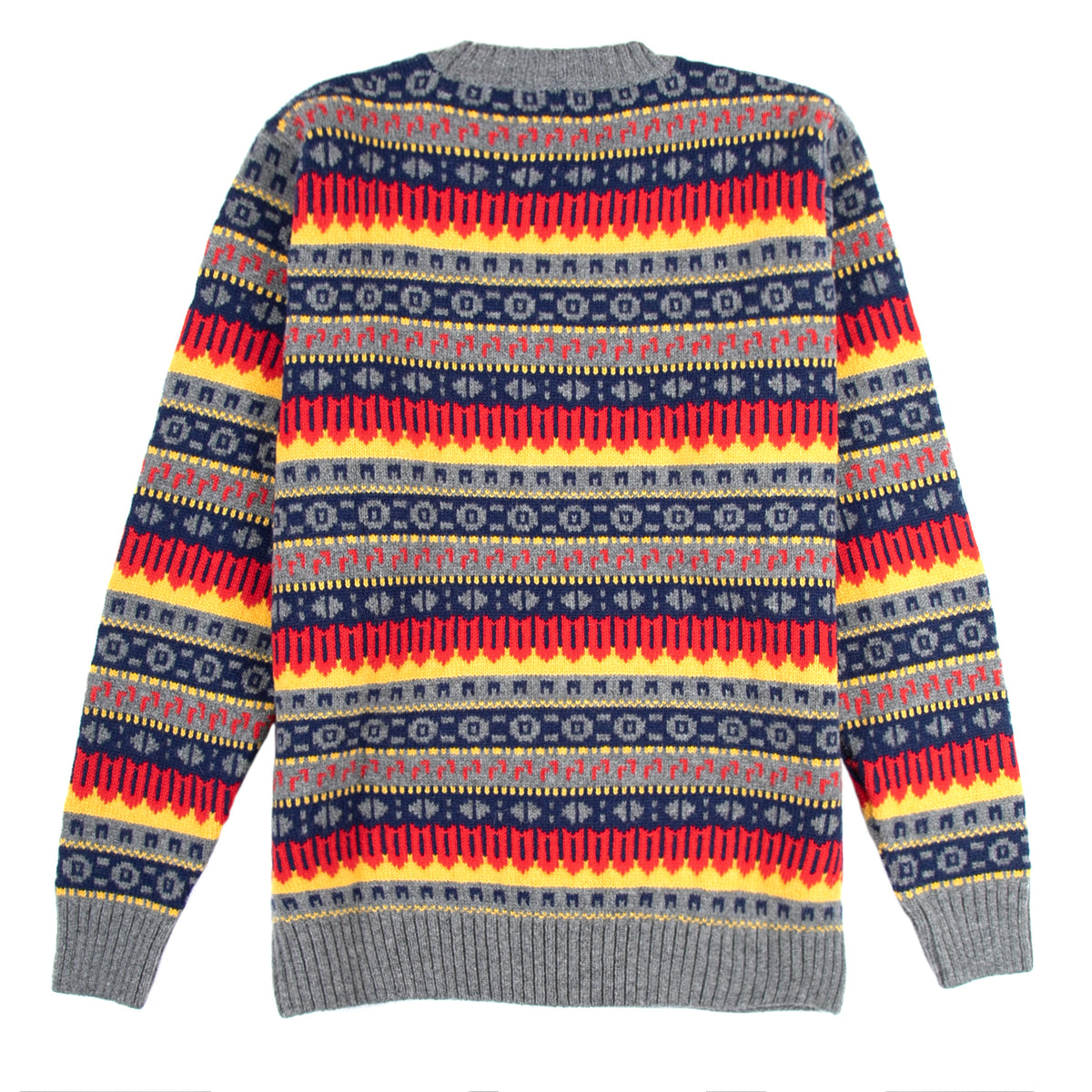 Country of Origin - Fairisle Lambswool - Yellow