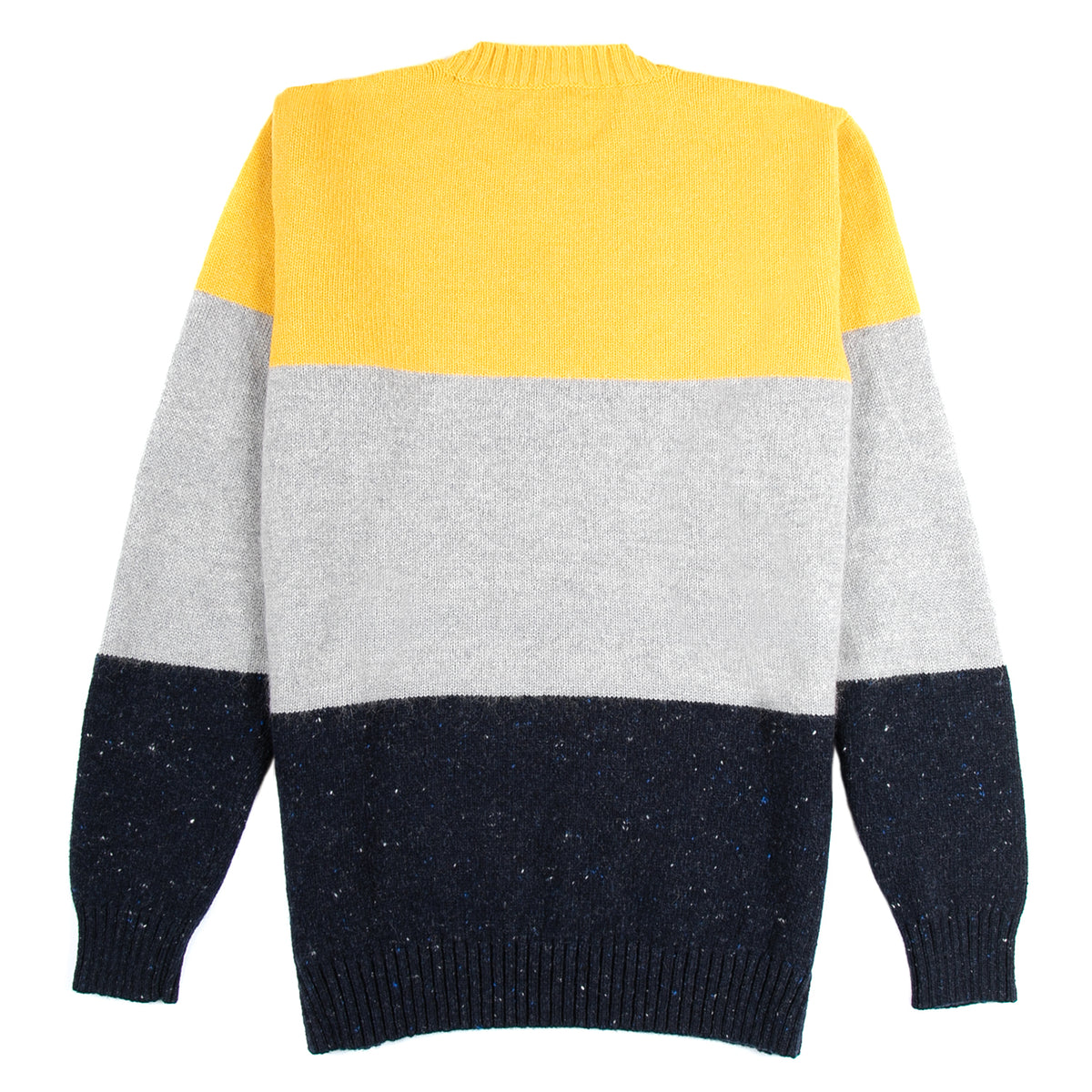 Country of Origin - Trapper Crew - Yellow/Navy