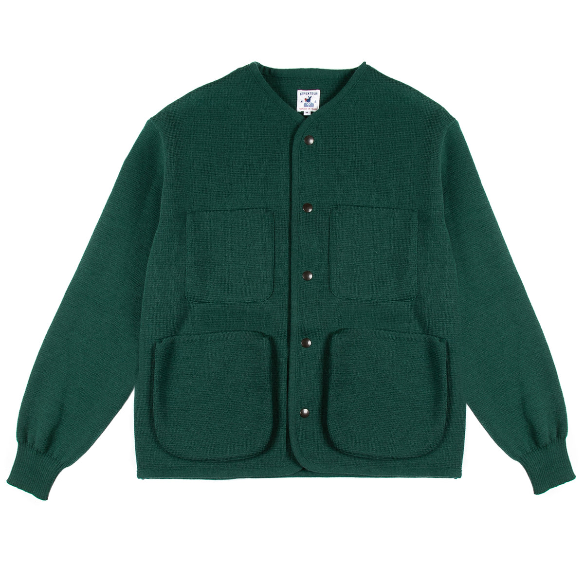 Arpenteur - George Cardigan - Green