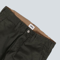 EDWIN - 55 CHINO - GREEN RINSED