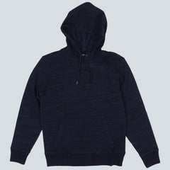 EDWIN - COLLEGE HOODED SWEATSHIRT - INDIGO