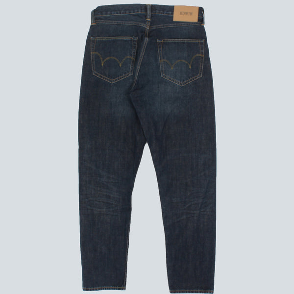 EDWIN - ED-45 GRANITE DENIM - BLUE MID LOAD WASH