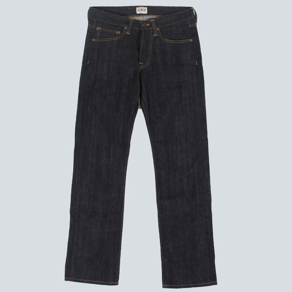 EDWIN - ED-47 RED LISTED SELVAGE DENIM - BLUE UNWASHED