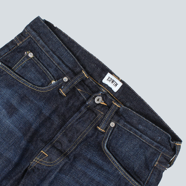 EDWIN - ED-55 RED LISTED SELVAGE DENIM - SLEET WASH