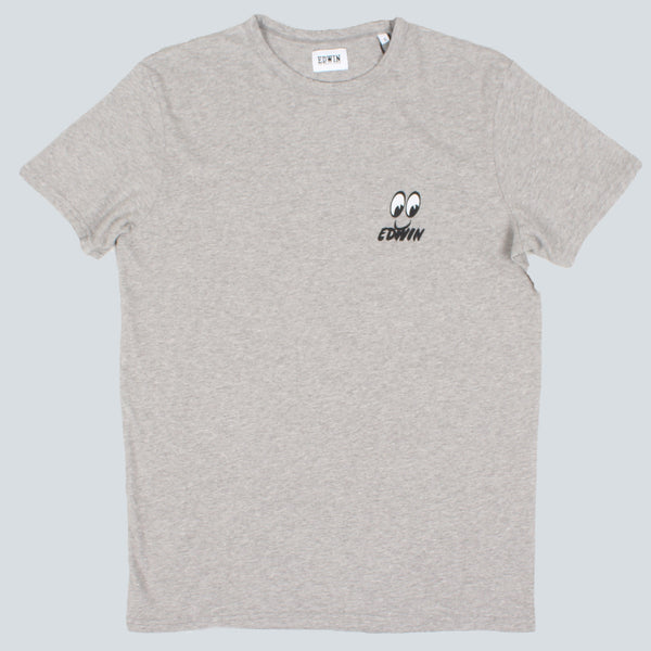 EDWIN - EYES T-SHIRT - GREY