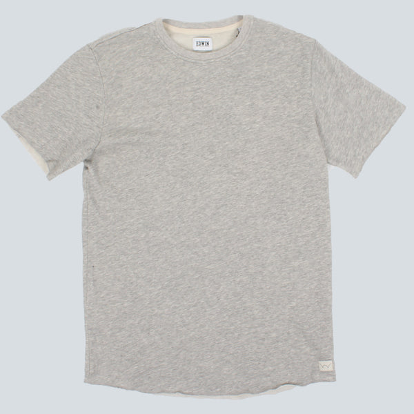 EDWIN - TERRY T-SHIRT - GREY MARL