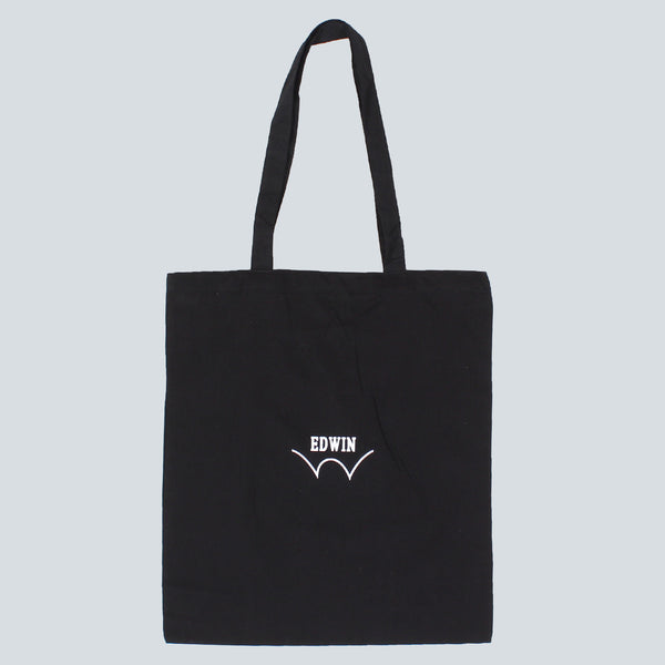 EDWIN - TOTE BAG - BLACK
