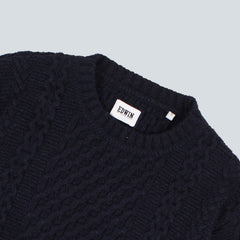 EDWIN - UNITED SWEATER - NAVY