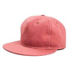 EBBETS FIELD - BRUSHED TWILL ADJUSTABLE 6 PANEL - NAUTICAL RED