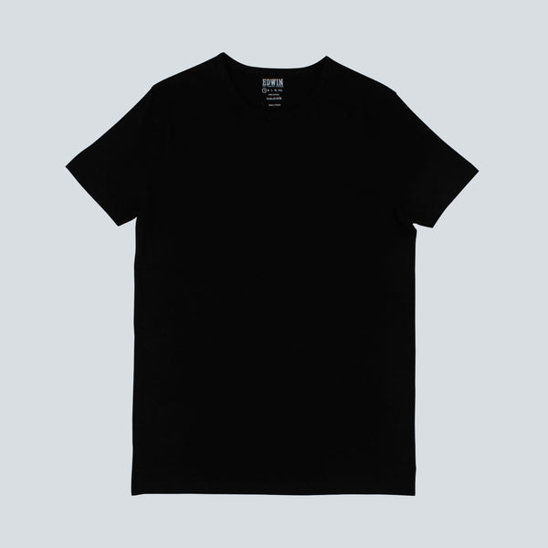 EDWIN - DOUBLE PACK SS TEE - BLACK