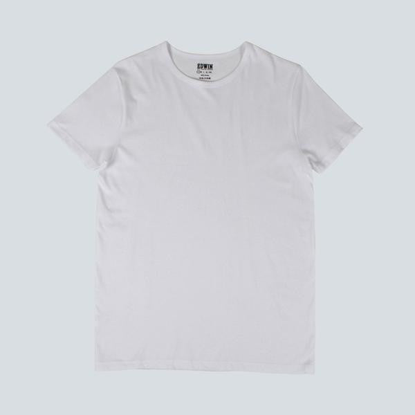 EDWIN - DOUBLE PACK SS T-SHIRT - WHITE