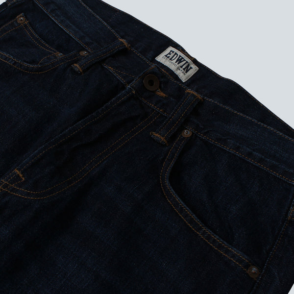 Edwin - ED-55 Relaxed Tapered 11.5oz Denim - Blue Coal Wash