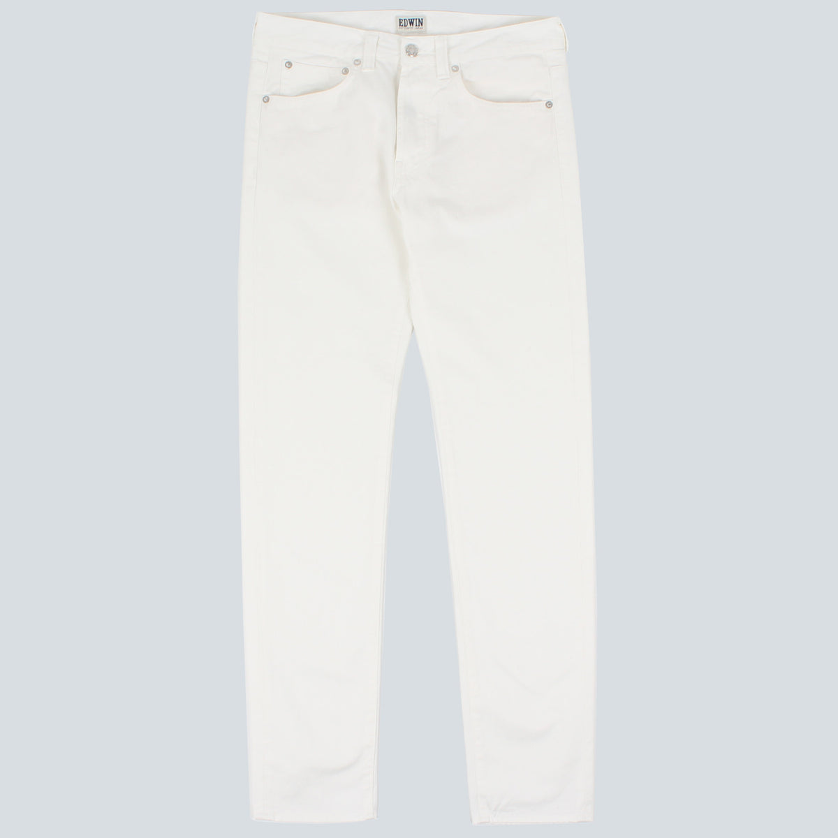EDWIN - ED-80 SLIM TAPERED NATURAL DENIM - NATURAL RINSED