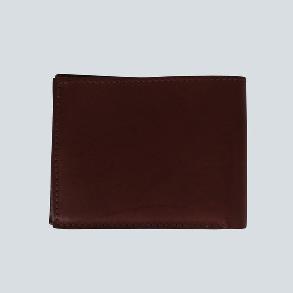 Edwin - Italian Leather Cash Wallet - Brown