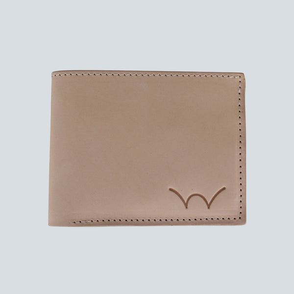 EDWIN - ITALIAN LEATHER CASH WALLET - NUDE