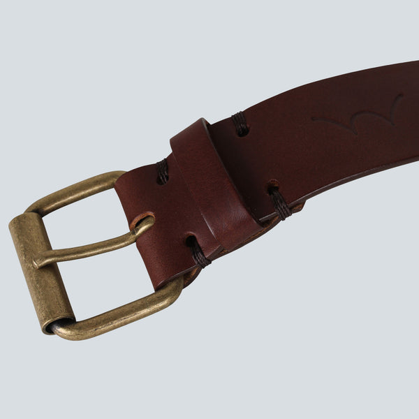 Edwin - Italian Leather Prime Belt - Brown
