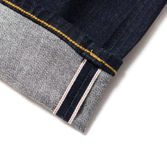 EDWIN - ED80 CS RED LISTED SELVAGE - BLUE RINSED DENIM