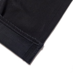 EDWIN - ED80 CS INK BLACK DENIM - BLACK RINSED