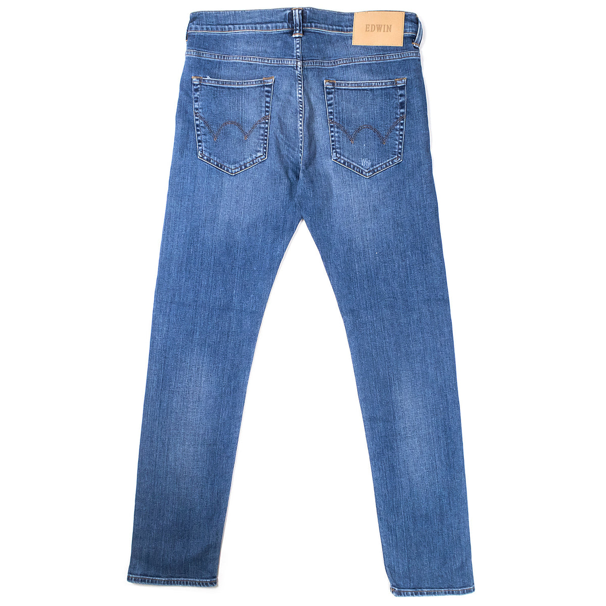 Edwin - ED-80 Night Blue Denim - Blue Baroque Wash