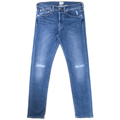 EDWIN - ED80 NIGHT BLUE DENIM - BLUE BAROQUE WASH