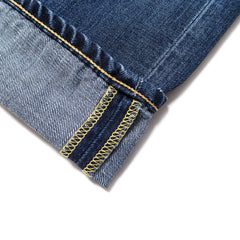 EDWIN - ED55 DEEP BLUE DENIM - BLUE GRIME DIRT WASH
