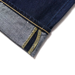 EDWIN - ED55 DEEP BLUE DENIM - BLUE COAL WASH