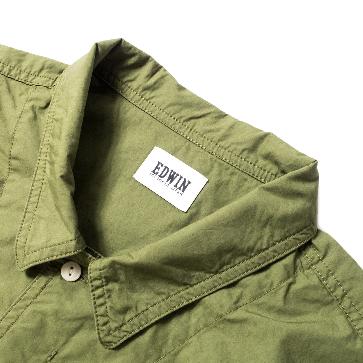 EDWIN - CORPORAL SHIRT - MILITARY GREEN