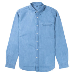 EDWIN - BETTER SHIRT - MID INDIGO